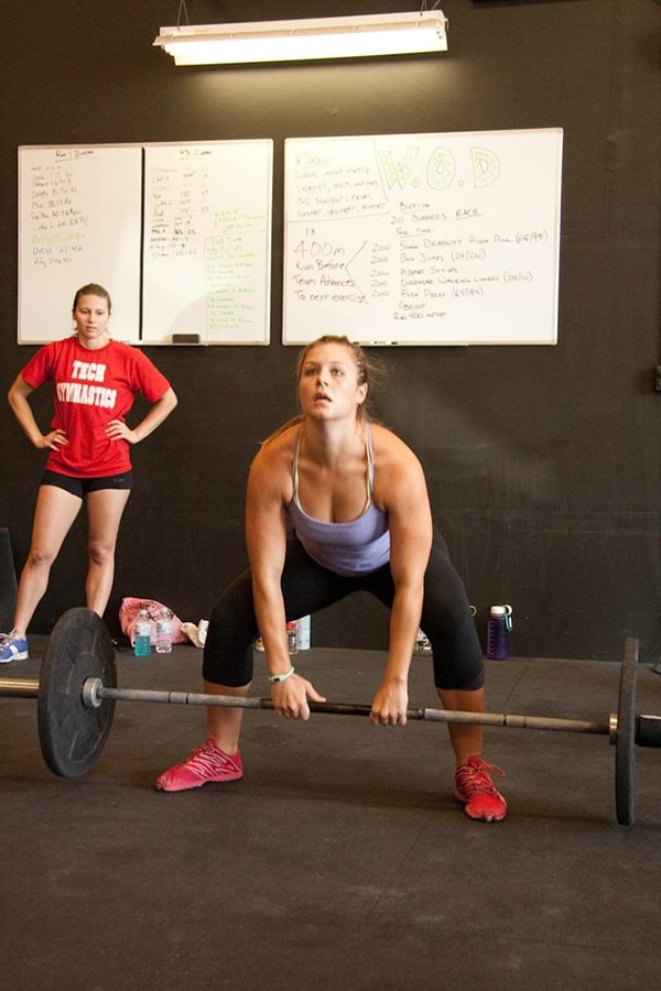 Woman Deadlift