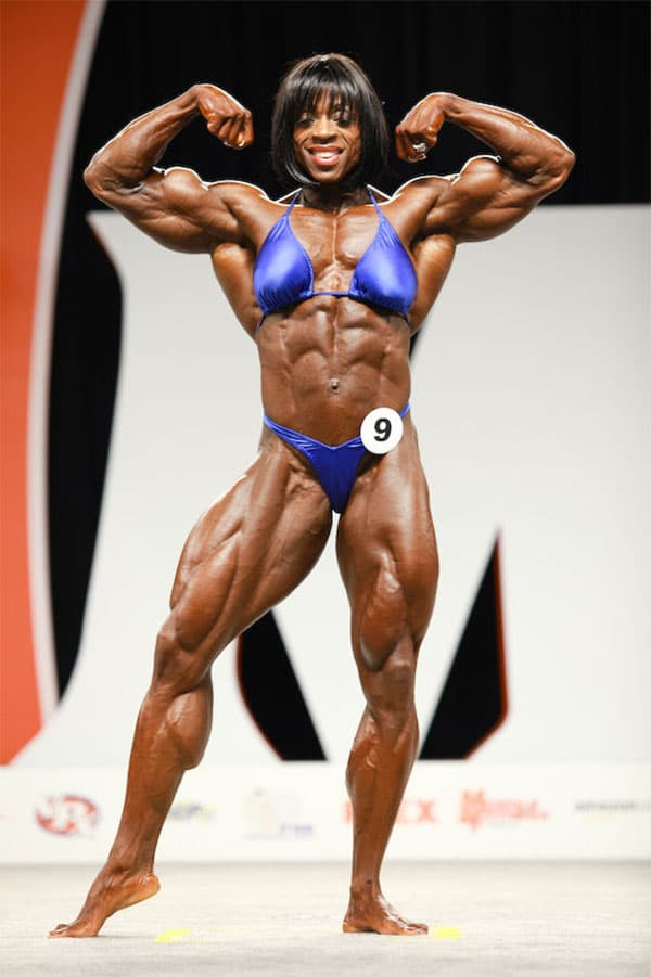 Top 15 Female Bodybuilding Competitors