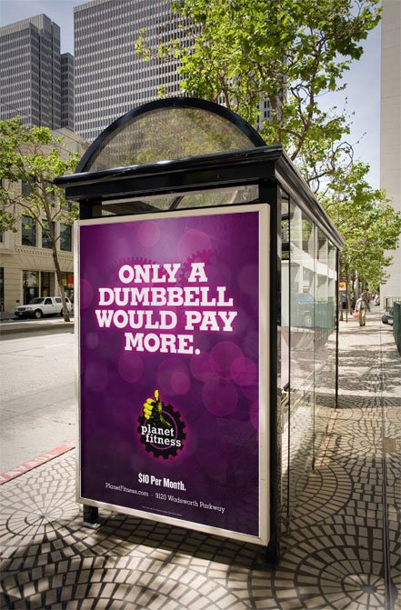 Planet Fitness Advertisement