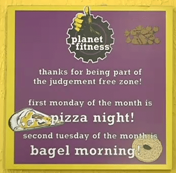 pizzabagel 6 Reasons Why Planet Fitness is Great