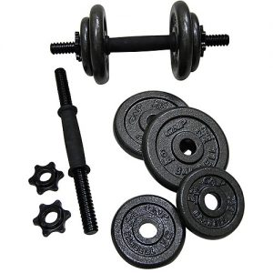 goldsadjustabledumbbells 300x300 5 Day Minimal Equipment Home Workout