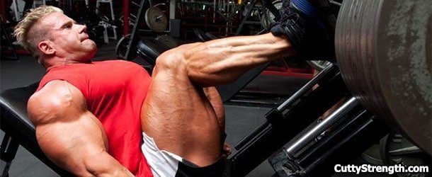 No One Cares How Much You Leg Press