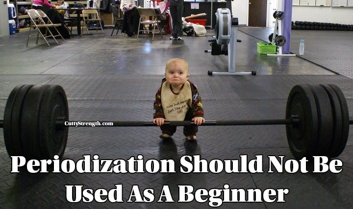 Periodization Should Not Be Used As A Beginner