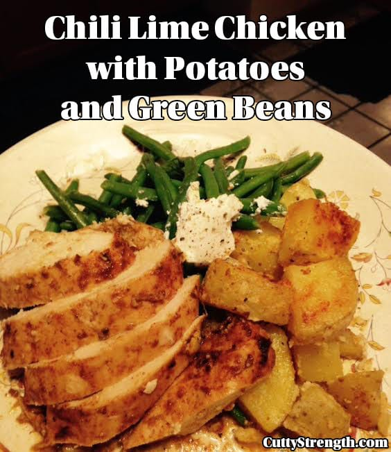 chicken potato green beans recipe