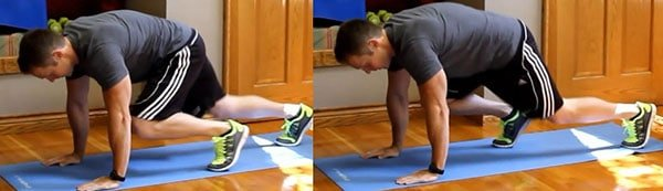 Mountain Climbers Core Workout