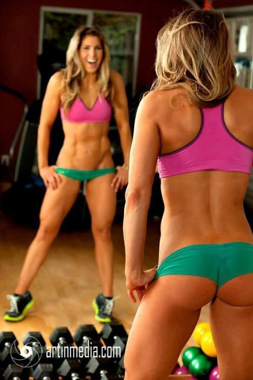 hot nude body builder chick
