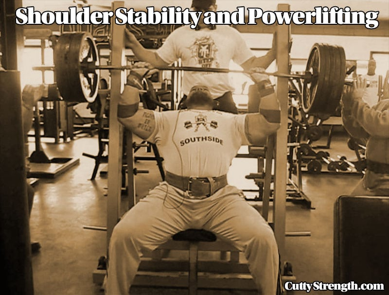 Shoulder Stability and Powerlifting