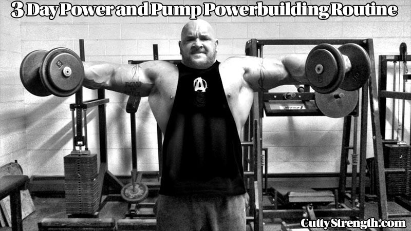 3 Day Power and Pump Routine