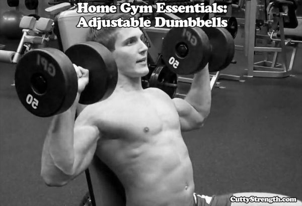 Home Gym Essentials: Adjustable Dumbbells