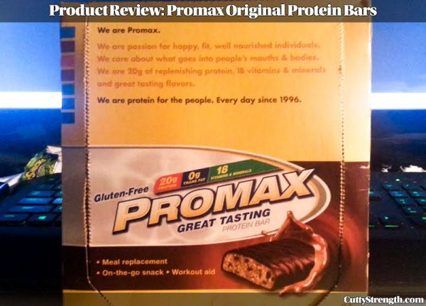 Promax Original Protein Bar Review