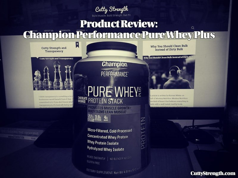 Champion Performance Pure Whey Plus