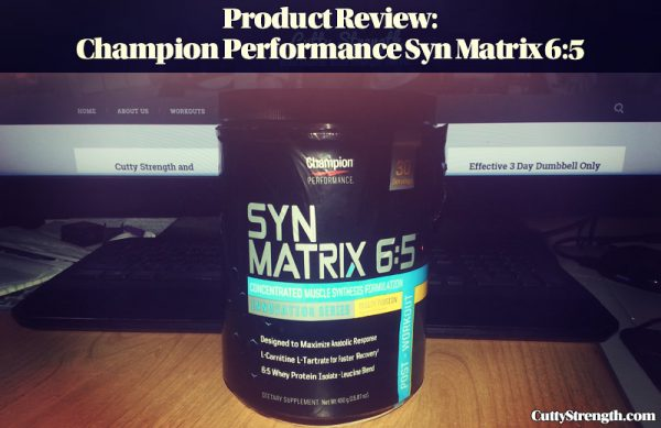 Product Review: Champion Performance Syn Matrix 6:5