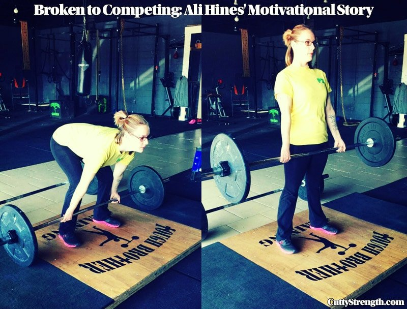 Broken to Competing: Ali Hines' Motivational Story
